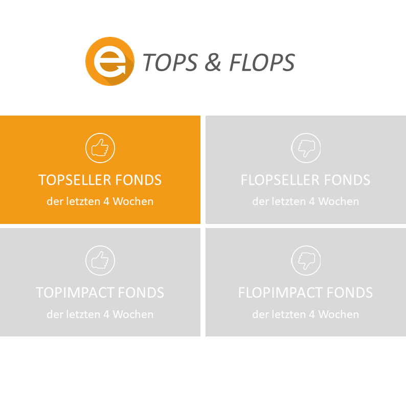 Die Top-Seller-Fonds der Envestor Community